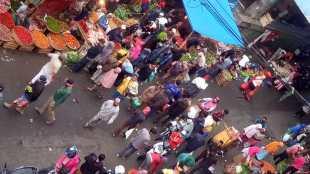Situasi di Jalan Roda, Pasar Bogor, Kota Bogor (dok. KM)