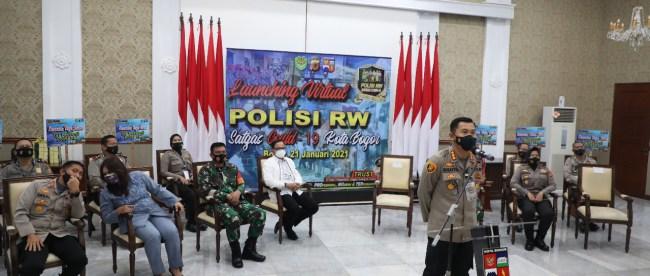 Launcing Virtual Program Polisi RW Satgas Covid-19 di Bogor, Kamis 21/1/2020 (dok. KM)