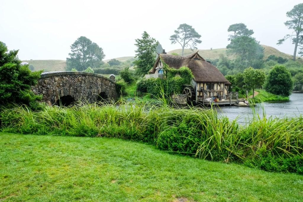 Blick Vom Green Dragon Inn