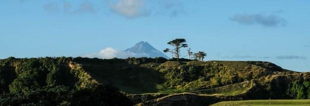 Mt Taranki Abends