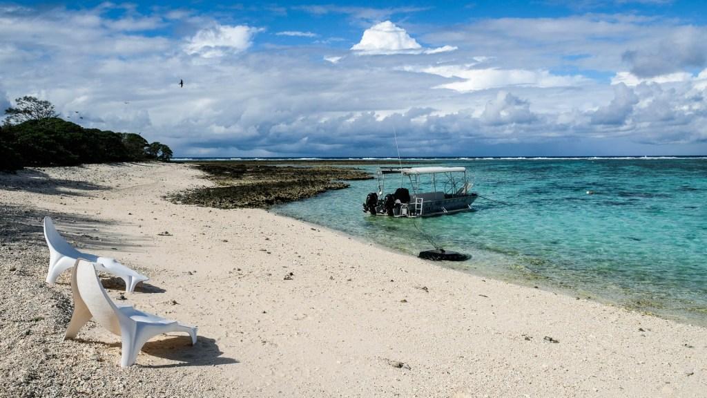 Lagune Auf Lady Elliot Island