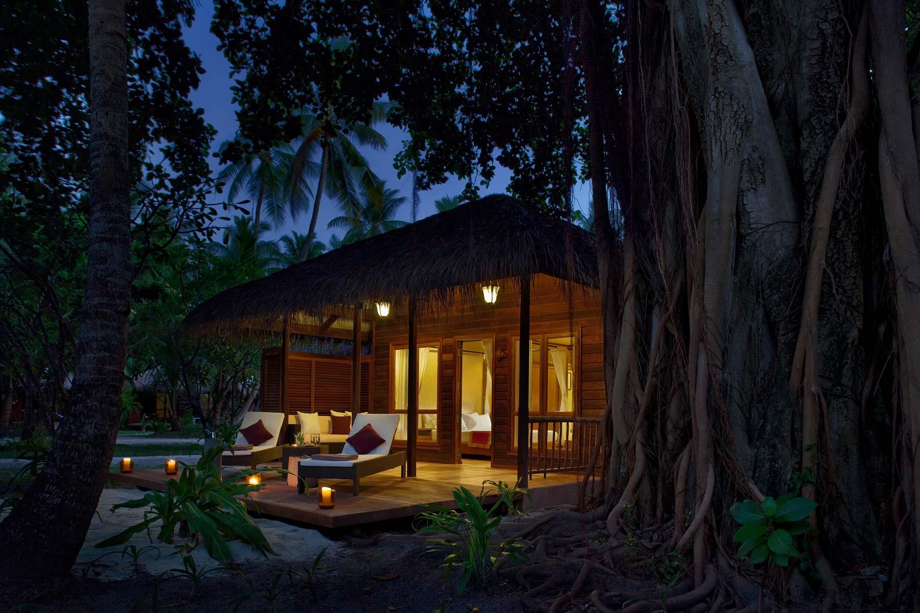 Maldives Beach Villas  Lagoon View Villas at Kuramathi