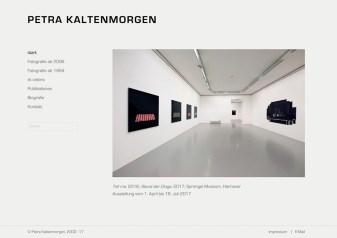 Website Petra Kaltenmorgen