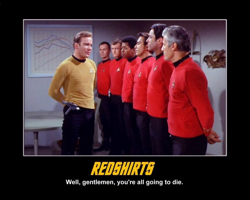 redshirts-going-to-die