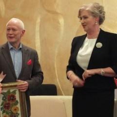 Pani Senator ANNA AKSAMIT podzieliła się miejscem i sercem