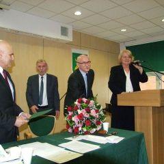 Zwykła, ale też niezwykła sesja  Rady Miejskiej w Łochowie