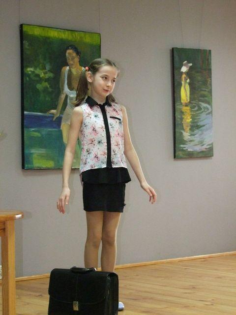 Konkurs Recytatorski Warszawska Syrenka Kurier W