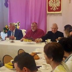 Wizytacja ks. Biskupa Parafii w Stoczku