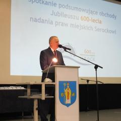 Serock – uroczyste zakończenie trwających ponad rok obchodów jubileuszu 600-lecia nadania praw miejskich