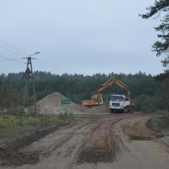 Ruszyły prace w zakresie przebudowy drogi gminnej Poniatowo – Złotki