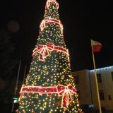 Świąteczne dekoracje rozświetliły Ostrów Mazowiecką