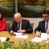 Podpisanie umowy NFOŚiGW