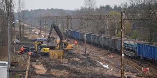 Przebudowa PKP Polskich Linii Kolejowych S.A. na trasie Rail Baltica – trasa Warszawa – Białystok odcinek gminy Małkinia Górna