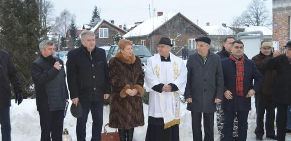 Uroczystość upamiętniająca 155. rocznicę wybuchu Powstania Styczniowego w Kamieńczyku