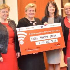 Inwestycje gminne warte 6 653 235,81 złotych będą zrealizowane dzięki środkom unijnym