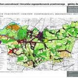 Zabrodzie ze Studium Uwarunkowań i Kierunków Zagospodarowania Przestrzennego Gminy