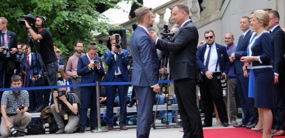 Burmistrz Ząbek odznaczony przez Prezydenta