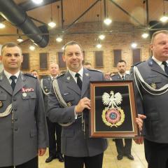 Sto awansów dla Funkcjonariuszy KPP Wołomin z okazji 99. rocznicy powołania Policji Państwowej