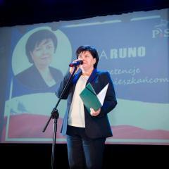 SILNY SAMORZĄD W SŁUŻBIE MIESZKAŃCOM – konwencja wyborcza KW Prawo i Sprawiedliwość oraz kandydatki na burmistrza Wyszkowa Ewy Runo.