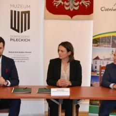 Umowa na rozbudowę Muzeum Dom Rodziny Pileckich została podpisana