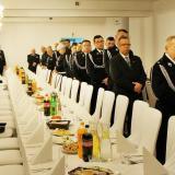 Strażacy z całego powiatu wołomińskiego podzielili się opłatkiem w Radzyminie