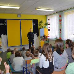 Bezpieczne Ferie w Szkole Podstawowej w Glinie