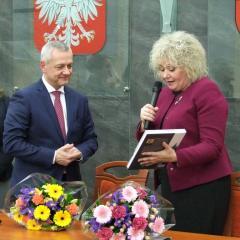 Minister Cyfryzacji Marek Zagórski w Węgrowie