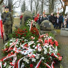 Uroczyste obchody Narodowego Dnia Pamięci Żołnierzy Wyklętych w Kobyłce