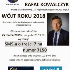 Głosujemy na Wójta Roku 2018