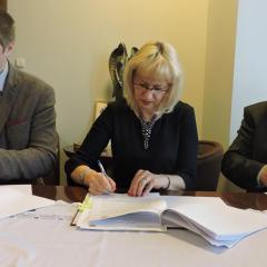 Ząbki podpisały umowę na budowę szkoły podstawowej