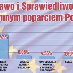 Wyniki wyborów do Parlamentu Europejskiego w powiecie wyszkowskim