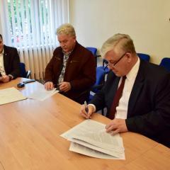 Umowa na budowę drogi Wyszków-Rybno-Kręgi-Somianka