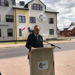 Nowa siedziba Biblioteki Publicznej Gminy Jadów przekazana do użytkowania