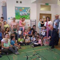 Wyprawka Maluszka – upominki wręczone przez Powiat Węgrowski najmłodszym mieszkańcom