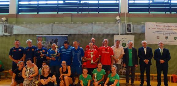 II turniej GRAND PRIX Mazowsza w Tenisie Stołowym Środowisk Abstynenckich