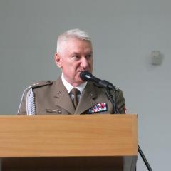 Komendant WKU ppłk Leszek Wieczorek zakończył pracę po 15 latach służby i pożegnał Wyszków