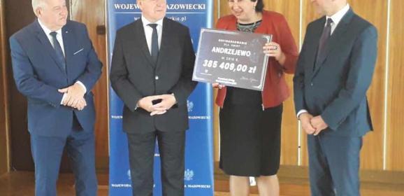 Fundusz Dróg Samorządowych – dofinansowanie dla Gminy Andrzejewo