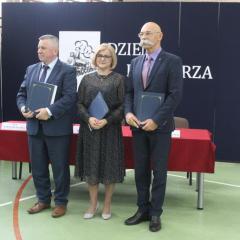 Dzień Kolejarza w Zespole Szkół im. St. Staszica w Małkini Górnej