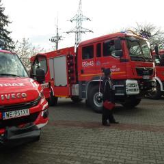 Trzy nowe wozy strażackie trafiły do powiatu wyszkowskiego