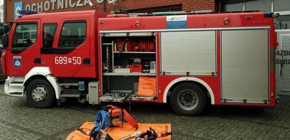 Nowy sprzęt oraz wyposażenie osobiste dla strażaków OSP Radzymin