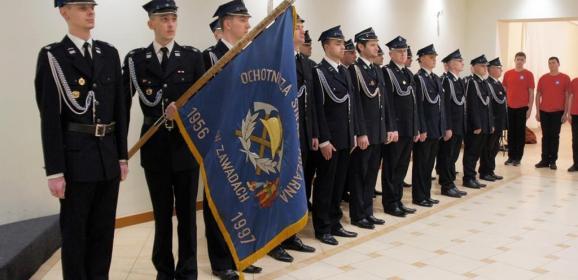 Strażacy OSP Zawady podsumowali pracowity rok, pochwalili się Młodzieżową Drużyną Pożarniczą i nowoczesnym samochodem