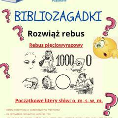 Biblioteka w Wąsewie zamknięta, ale z pomysłem na facebooku
