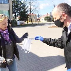Gmina Wieliszew nosi maseczki