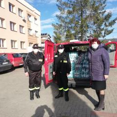 Piękna inicjatywa strażaków Ochotniczej Straży Pożarnej w Andrzejewie