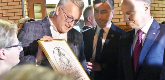 (Nie tylko nocne) Marki przywitały Prezydenta Andrzeja Dudę!!!
