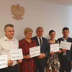 Konferencja prasowa w biurze poselskim posła Henryka Kowalczyka