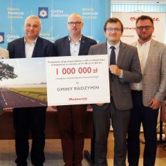 Milion złotych dotacji na ul. Wołomińską w Radzyminie!