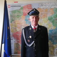 Druh Witold Jeglikowski otrzymał tytuł Strażaka Roku 2020 Powiatu Ostrowskiego
