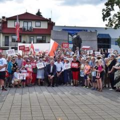 Wiece poparcia prezydentury Andrzeja Dudy w Radzyminie, Wołominie i Tłuszczu