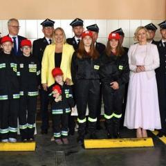 Uroczyste wręczenie promes dla jednostek Ochotniczych Straży Pożarnych